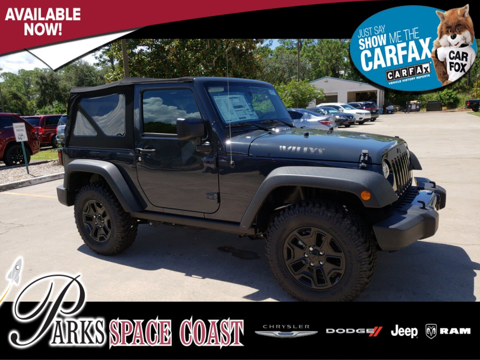 New 2018 Jeep Wrangler Jk Willys Wheeler Sport Utility In Titusville Computer