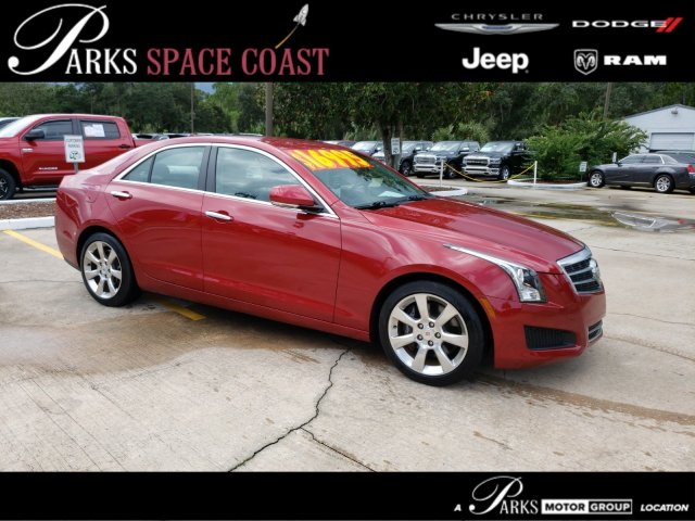 Pre-Owned 2013 Cadillac ATS Luxury