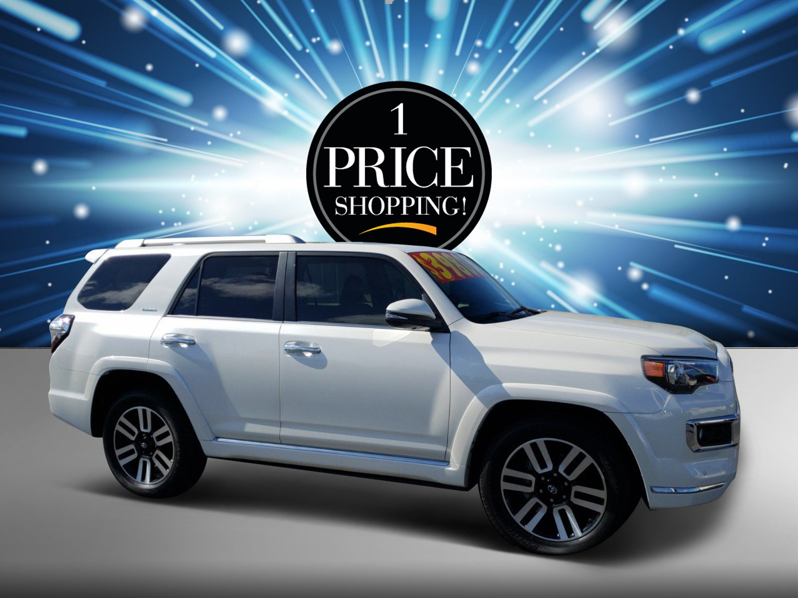 Pre Owned 2017 Toyota 4runner Limited Sport Utility In Titusville 2000 Interior Light