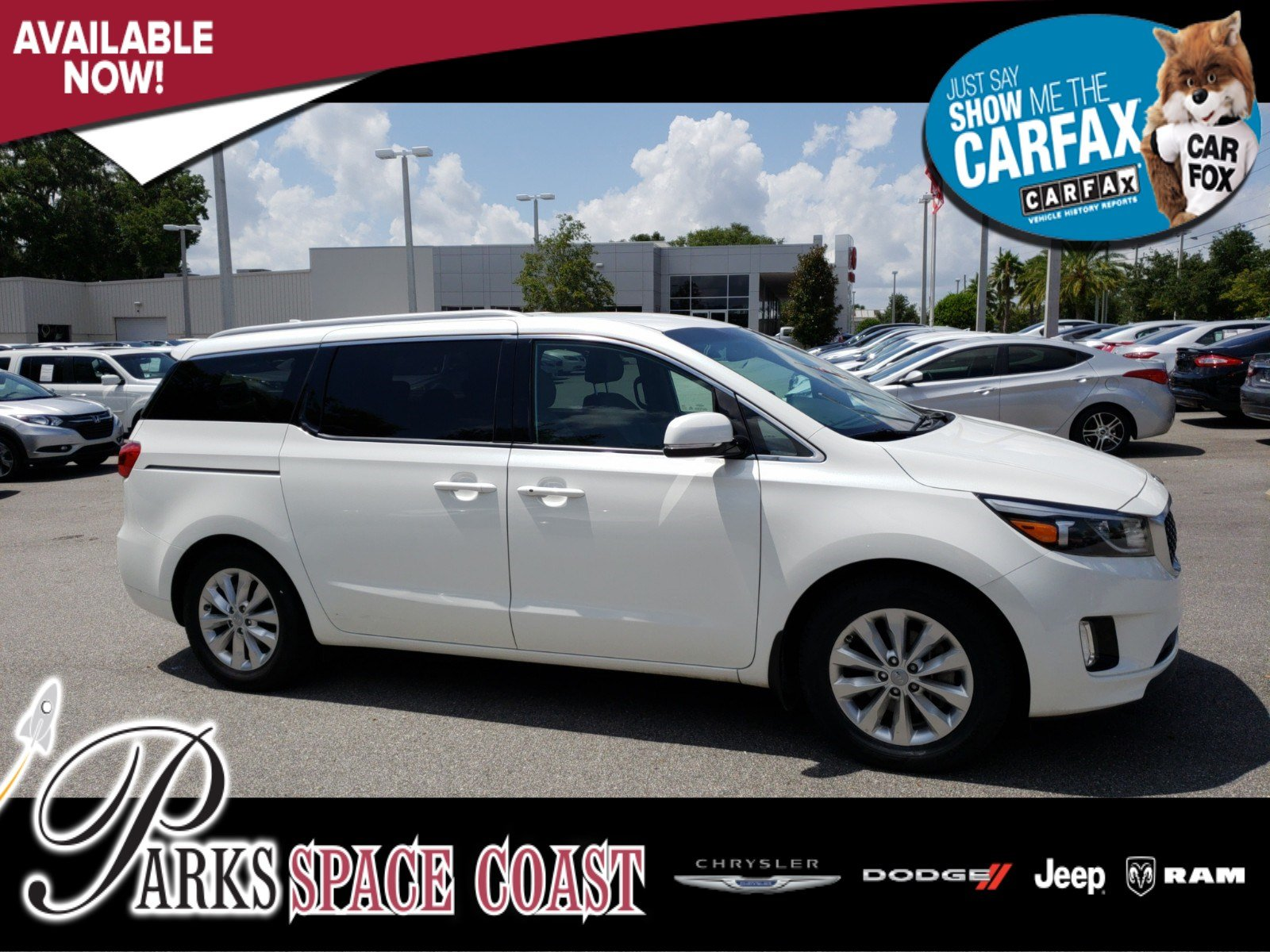 Pre Owned 2016 Kia Sedona Ex Mini Van Passenger In Titusville Gauges