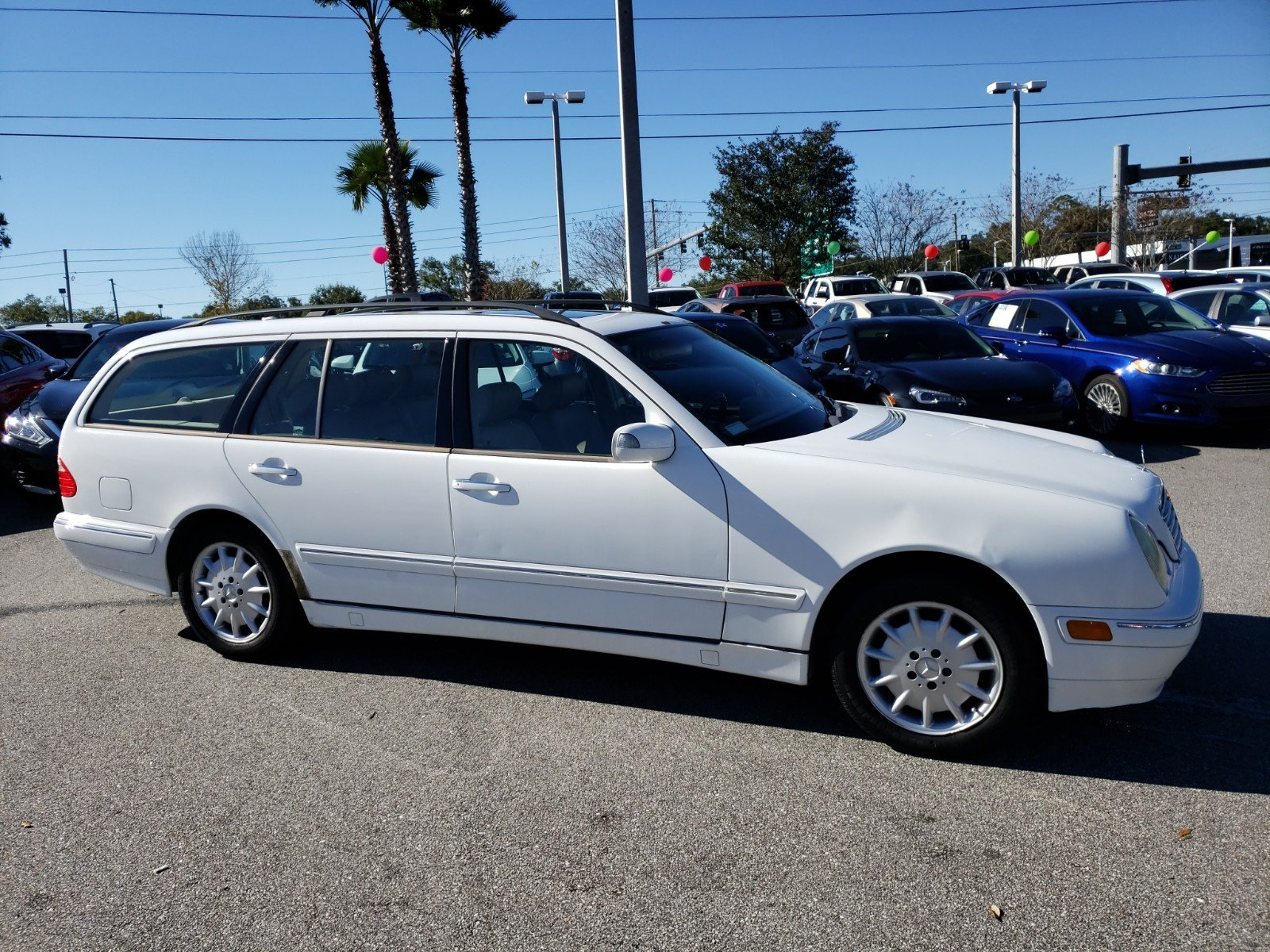 Pre-Owned 2001 Mercedes-Benz E-Class AWD