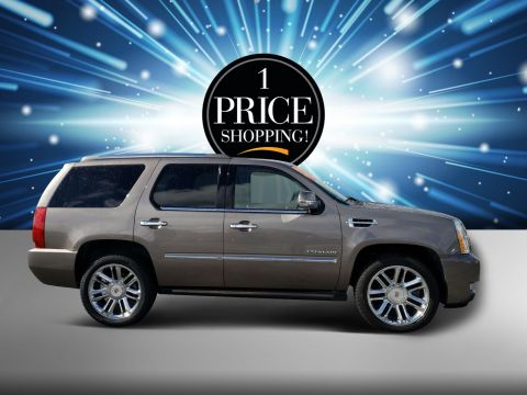 Pre-Owned 2012 Cadillac Escalade Platinum Edition