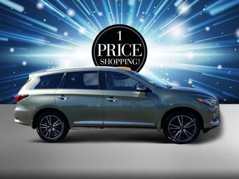 Pre Owned 2017 INFINITI QX60 Base Sport Utility in Titusville